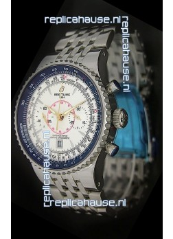 Breitling Montbrillant Legende Swiss Replica Watch White Dial
