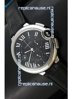 Cartier Ballon de Japanese Replica Watch in Black Dial