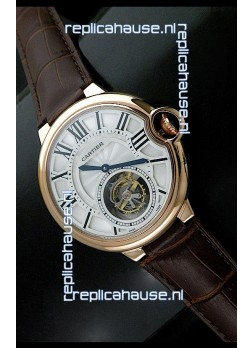 Swiss cartier Tourbillon Calibre de Swiss Tourbillon Watch