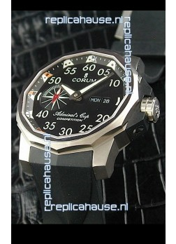 Corum Admiral's Cup Competition Swiss Replica Watch in Black Dial