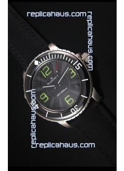 Blancpain 500 Fathoms Swiss Replica Watch in Grey Dial - 1:1 Mirror Edition