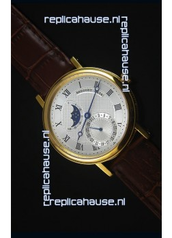 Breguet Classique Moonphase Yellow Gold Swiss Replica Watch