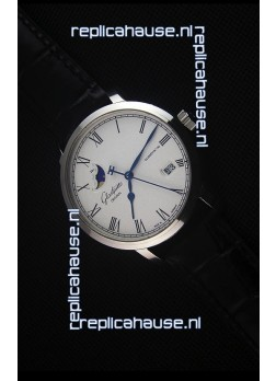Glashuette Senator Excellence Panorama Date Moon Phase Swiss Replica Watch
