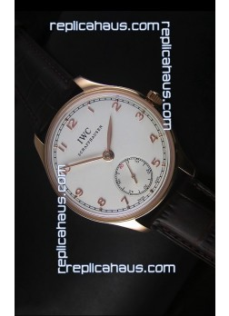 IWC Portugieser IW545409 Rose Gold 1:1 Mirror Replica Watch