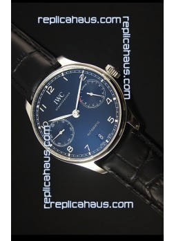 IWC IW500703 Portugieser Swiss 1:1 Mirror Replica Watch Black Dial - Updated 2016 Version