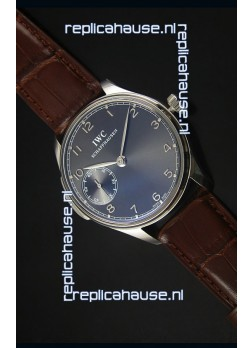 IWC Portuguese Handwind Ref# IW5242 Swiss 1:1 Mirror Grey Dial Watch