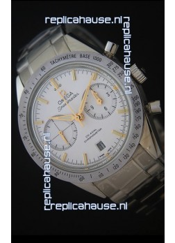 Omega Speedmaster 57 Co-Axial Chronograph in Yellow Gold Markers Swiss Watch