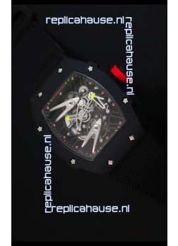 Richard Mille RM027 Tourbillon Rafael Nadal Edition Swiss Watch in PVD Casing