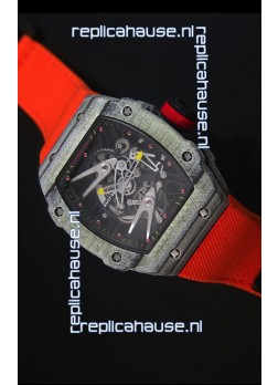 Richard Mille RM027 Tourbillon Rafael Nadal Edition Swiss Watch in Forged Carbon Case