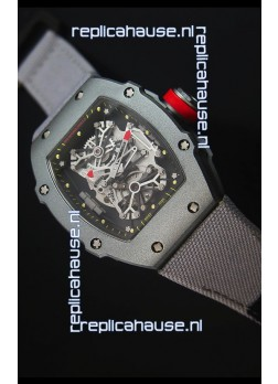Richard Mille RM027 Tourbillon Rafael Nadal Edition Swiss Watch in Titanium Case
