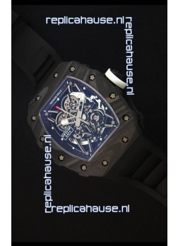 Richard Mille RM035-2 Rafael Nadal Forged Carbon Case with White Crown