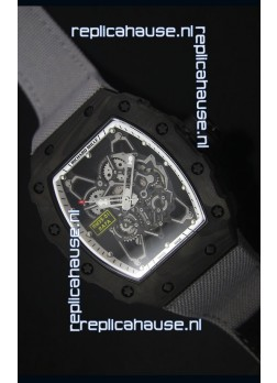 Richard Mille RM35-01 Rafael Nadal Edition Swiss Replica Watch Grey Nylon Strap