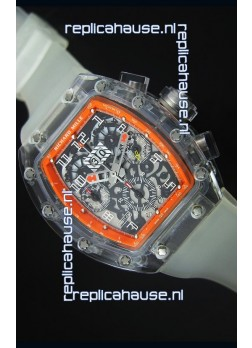 Richard Mille RM056-1 Tourbillon Felipe Massa Chronograh Orange Bezel Watch
