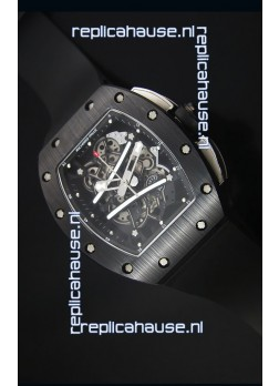 Richard Mille RM061 Ceramic Case Swiss Black Bezel Replica Watch