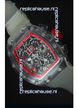 Richard Mille RM056-1 Tourbillon Felipe Massa Chronograh Red Bezel Watch