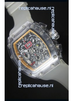 Richard Mille RM056-1 Tourbillon Felipe Massa Chronograh Beige Bezel Watch