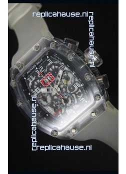 Richard Mille RM056-1 Tourbillon Felipe Massa Chronograh Black Bezel Watch