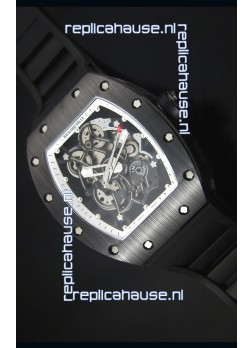 Richard Mille RM055 Ceramic Case Watch in White Inner Bezel