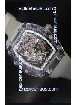 Richard Mille RM56-01 AN Saphir White Edition Replica Watch