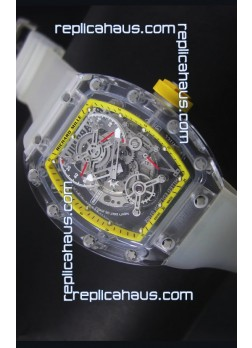 Richard Mille RM56-01 AN Saphir Yellow Edition Replica Watch