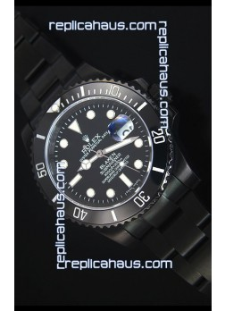 Rolex Submariner Blaken PVD Swiss Replica Watch