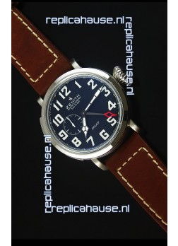 Zenith Heritage Pilot Type 20 GMT Matte Black Dial Swiss 1:1 Mirror Replica Watch