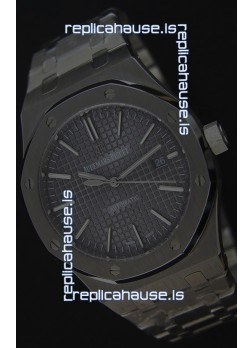Audemars Piguet Royal Oak 41MM Grey Dial Steel Strap - 1:1 Mirror Ultimate Edition