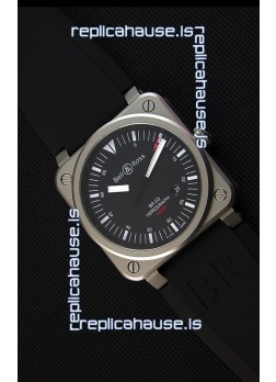 Bell & Ross BR03-92 Horograph Black Dial Swiss Rubber Strap 1:1 Mirror Replica Watch