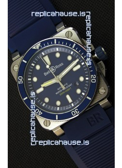 Bell & Ross BR03-92 Diver Blue Swiss Replica Watch 1:1 Mirror Replica