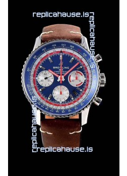Breitling Navitimer 1 B01 Chronograph PAN AM Edition 43MM - 904L 1:1 Mirror Replica Watch