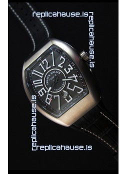 Franck Muller Vanguard V45 Titanium Swiss Replica Watch 1:1 Mirror Replica Edition