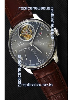 IWC Portugieser Tourbillon Mystere Retrograde Silver Dial UPDATED 2019 Version