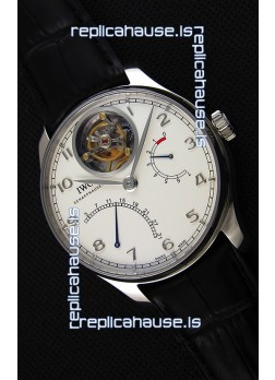 IWC Portugieser Tourbillon Mystere Retrograde IW504601 White Dial UPDATED 2019 Version