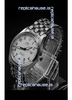 IWC MARK XVIII Swiss Replica Watch in 904L Steel White Dial 40MM - 1:1 Mirror Replica