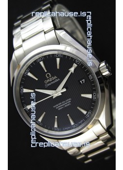 Omega Master Co-Axial Aqua Terra 150M Black Dial 1:1 Mirror Replica