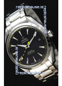 Omega Master Co-Axial Aqua Terra 15,000 Gauss Black Dial 1:1 Mirror Replica
