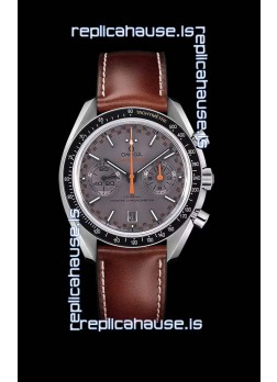 Omega Speedmaster Racing Co-Axial Master Chronograph Swiss Replica Watch Grey Dial