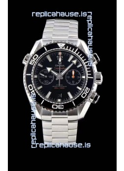 Omega Planet Ocean 600M Chronograph 904L Steel 1:1 Mirror Replica Watch