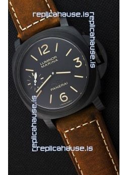 Panerai Luminor Marina Carbotech Beverly Hills Boutique Edition Swiss Replica Watch
