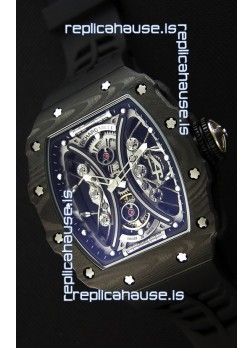 Richard Mille RM53-01 Pablo Mac Donough Black Carbon Case Swiss Replica Watch