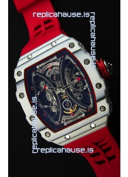 Richard Mille RM53-01 Pablo Mac Donough White Carbon Case Swiss Replica Watch