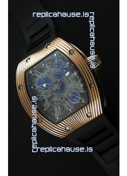Richard Mille RM 018 Tourbillon Hommage A Boucheron Swiss Watch Rose Gold Case