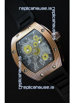 Richard Mille RM 018 Tourbillon Hommage A Boucheron Swiss Watch Yellow Gold Case