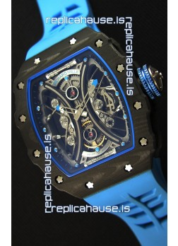 Richard Mille RM53-01 Pablo Mac Donough Carbon Case Swiss Replica Watch