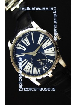 Roger Dubuis Excalibur RDDBEX0378 Steel Blue Swiss Replica Watch