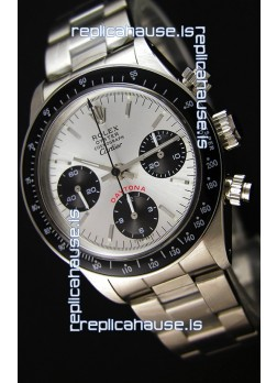 Rolex Daytona Vintage 6263 for CARTIER Edition Swiss Replica -  904L Steel Watch