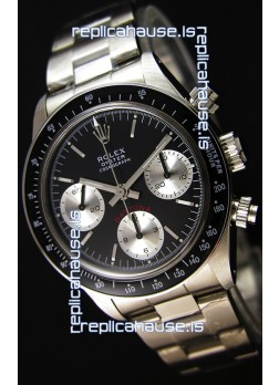 Rolex Daytona Vintage REF 6264 Swiss Replica Watch - 904L Steel Watch