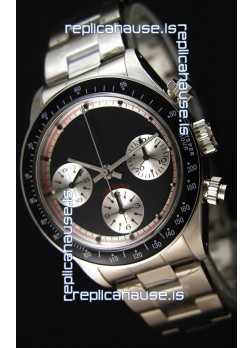 Rolex Daytona Paul Newman Blacked out Swiss Replica Watch - 904L Steel Watch