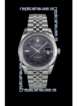 Rolex Datejust Wimbledon Cal.3235 Movement Swiss Watch - Ultimate 904L Steel 41MM