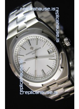 Vacheron Constantin Overseas Steel White Dial Swiss Replica 1:1 Mirror Watch